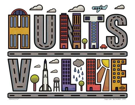 Huntsville Typography