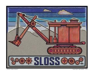 Sloss Steam Shovel